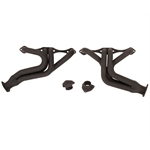 Small Block Chevy Universal Street Rod Headers, Black