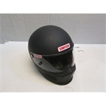 Garage Sale - Simpson Bandit SA2010 Racing Helmet, Flat Black, Medium