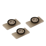 Garage Sale - Mag Daddy 3/8 Inch Grand Glue Daddy Panel Magnet Fastener, 3-Pack
