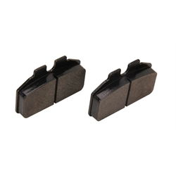 AFCO 1251-2002 F22 C2 Brake Pads, Set of 4