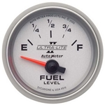 Auto Meter 4916 Ultra-Lite II Air-Core Fuel Level Gauge, 2-1/16 Inch