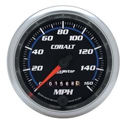 Auto Meter 6293 Cobalt Mechanical Speedometer Gauge, 3-3/8 Inch