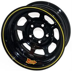 Aero 56-185020 56 Series 15x8 Wheel, Spun, 5 on 5 Inch BP, 2 Inch BS