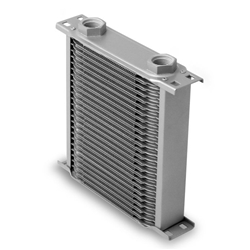 Earls 22500ERL 25 Row Oil Cooler Core, Gray