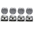 KB Claimer Chevy 350 Hypereutectic Pistons, .465 Dome, 5.7 Rod