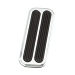 Lokar BAG-6085 73-98 Chevy Truck Billet Aluminum Throttle Pad w/Rubber