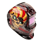 Titan Tools 41283 Skull/Wrench Solar Powered Auto Darkening Welding Helmet
