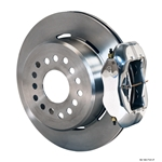 Wilwood 140-7141-P FDL Rear Brake Kit, Chevy 12 Bolt w/ C-Clips