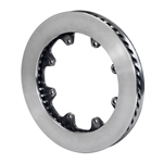 Wilwood 160-13498 HD 48 Curved Vane Spec-37 LH Iron Rotor, 11.75 Inch