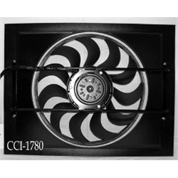 Cooling Components CCI-1780 Cooling Machine Electric Fan, Style 80