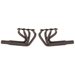 Big Block Chevy Sprint Style Headers, Black
