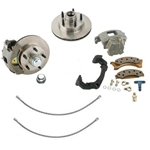 Track-T Front Disc Brake Kit