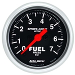Auto Meter 3363-M Sport-Comp Digital Stepper Motor Fuel Pressure Gauge