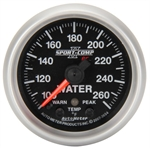 Auto Meter 3654 2-1/16 Inch Water Temp Gauge