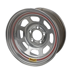 Bassett DOT Approved Racing 15 x 7 In. Wheel, 5 on 5 Inch, Without Beadlock