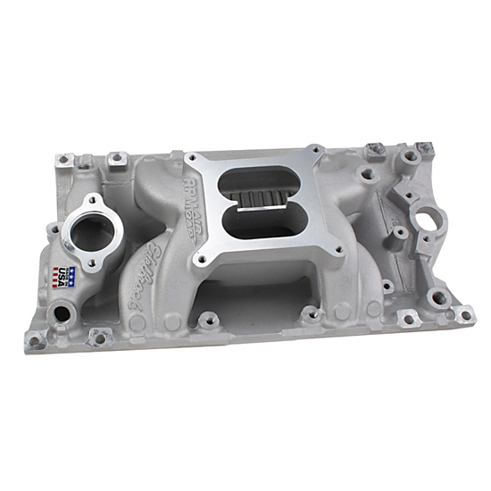 Edelbrock 7516 Performer RPM Air-Gap Vortec S/B Chevy