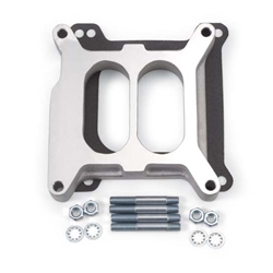 Edelbrock 8714 4- Barrel Carburetor Spacer, Aluminum, 1 Inch