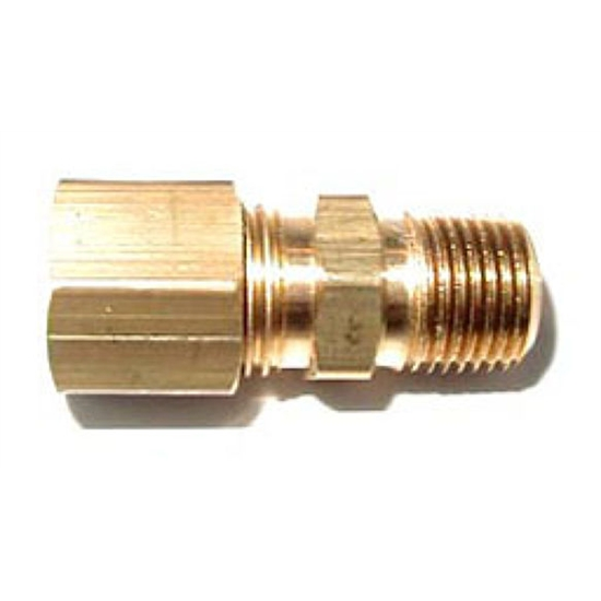 Nos compression fitting inch npt to