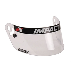 Impact Racing 12100901 Clear Shield-Charger/Vapor/Carbon Fiber Draft