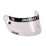 Garage Sale - Impact Racing 12100901 Clear Shield-Charger/Vapor/Carbon Fiber Draft