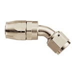 Aeroquip FCE4023 Nickel 45 Degree Hose End Coupler Fitting, -8 AN