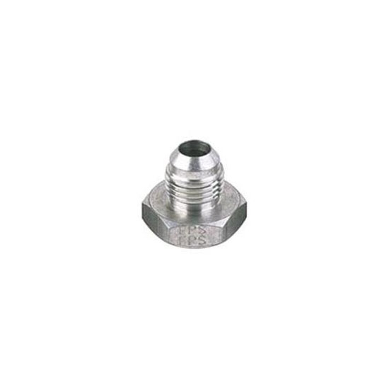 Male Aluminum 37 Degree AN Flare Weld Bung Fitting, -8 AN