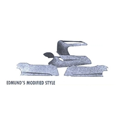 Edmunds Modified Style and Trosel Spring Fiberglass Hood w/ Bubble
