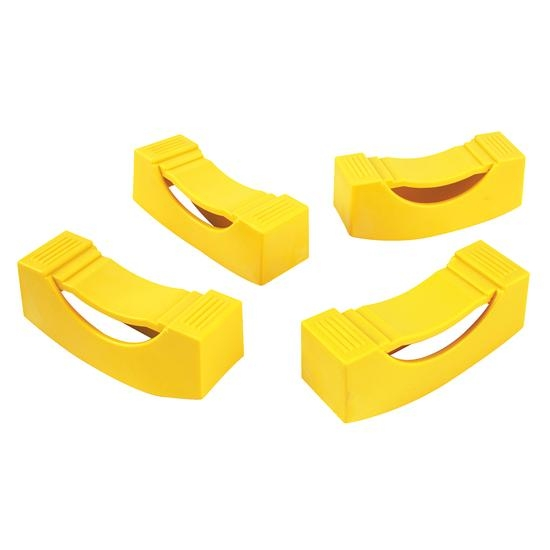 Ernst Mfg 964 Yellow Jack Stand Covers - 4 Pack