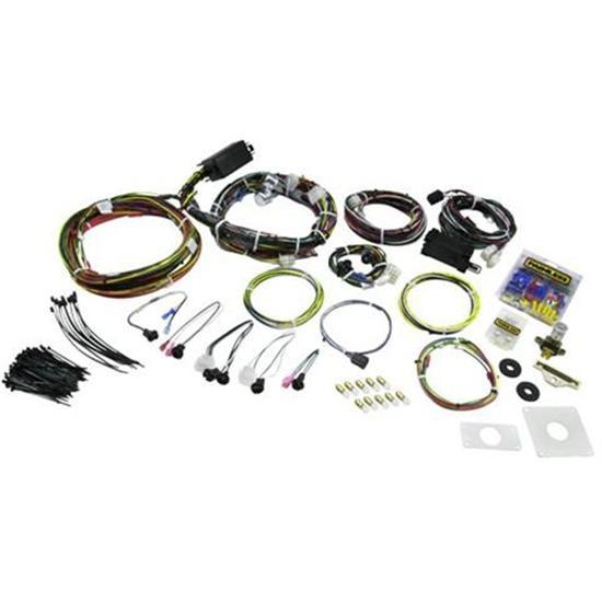 painless wiring 20120 1964 1966 mustang 22 circuit wiring harness speedway motors america s