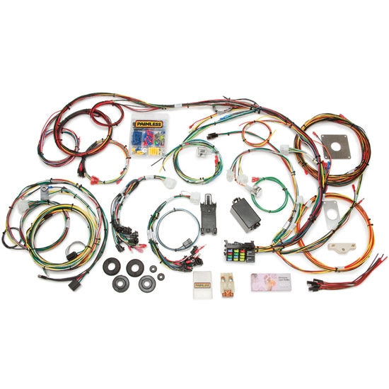 new painless 20120 1964 1966 ford mustang wiring harness 22 circuit rod ebay