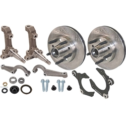 IMCA 3-Piece Metric Spindles with Wilwood Rotors Kit