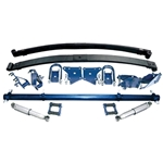 TCI 1954-55 Chevy Pickup Truck Rear Parabolic Leaf Spring Suspension Kit