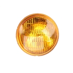 Replacement 12 Volt Vintage Style Fog Light Bulb, Amber Lens