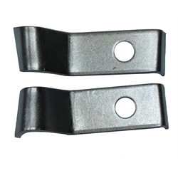CHQ Reproductions W552 Deluxe Bumper Guard Front Clamps, 69 Camaro