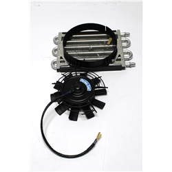 Garage Sale - Perma-Cool 13211 Maxi-Cool Jr. 6-Pass Transmission Cooler w/8 Inch Fan