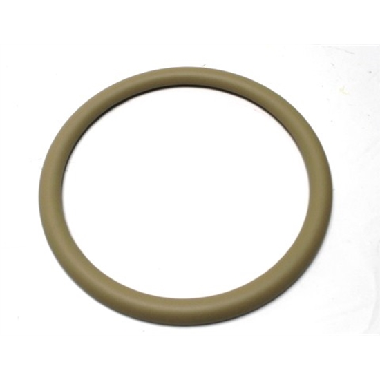Garage Sale - Beige Leather Steering Wheel Wrap