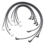 Accel 9018C GM HEI 75-86 Extreme 9000 Ceramic Plug Wires, Under Valve