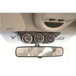 Auto Meter 18017 Triple Gauge Overhead Console, Ram/Super Duty, 2-1/16