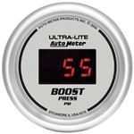 Auto Meter 6570 Ultra-Lite Digital Digital Boost Gauge, 60 PSI, 2-1/16
