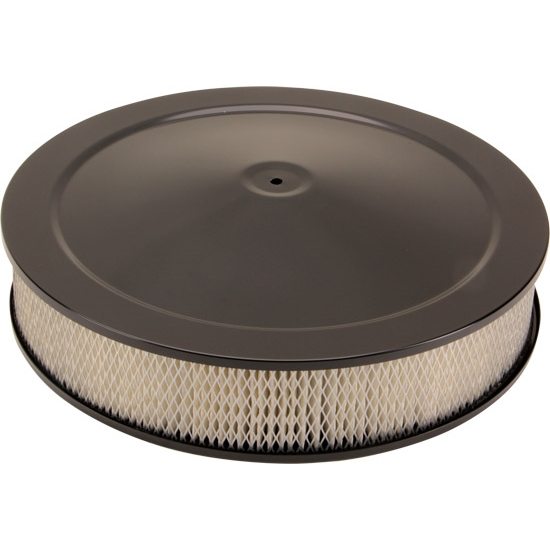 Round Air Cleaners For Tractors : Universal black inch round air cleaner set tall