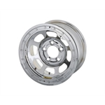 Bassett 57RC375CL 15X7 Dot DHole 5on4.75 3.75 BS Chrome Beadlock Wheel