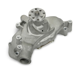 Weiand 9243 Team G Aluminum Water Pump w/Twisted Snout Design