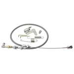 Lokar DP-1000HT 24 Inch Duo-Pak Hi-Tech SS Throttle Cable Kit