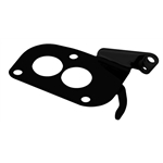 Lokar XTRP-4007 Midnight Series 3 Bolt Carb Throttle Cable Mount Plate
