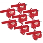 MSD 82868 GM LQ Truck Series MSC Coil, 8-Pack