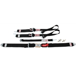 Simpson 55 Inch Sport Belt 5-Point Harness Combo for Hans Device, Clip-In