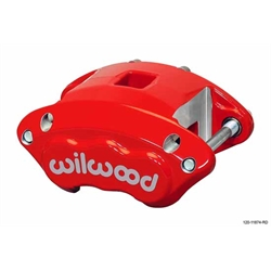 Wilwood 120-11872-RD D154 Dual Piston Floater Caliper, GM, Red
