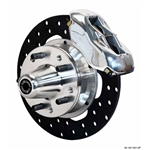 Wilwood 140-1501-DP FDL Front Drag Brake Kit, 1937-48 Ford Car
