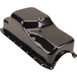1964-1987 Small Block Mopar 273-318-340 Oil Pan, Center Sump, Black