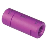 Speedway Drum Brake Residual Valve, 10 PSI, Purple